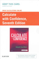 Drug Calculations Online for Calculate with Confidence  Access Code  PDF