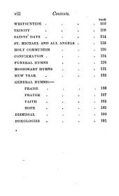 Hymns for the Use of Cheltenham College. [The preface signed: A. B., i.e. Alfred Barry.]