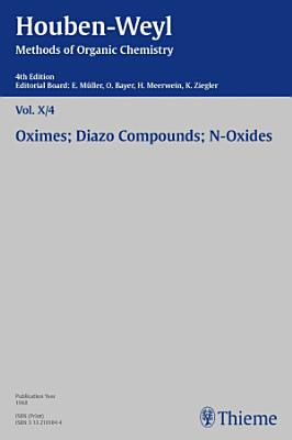 Houben Weyl Methods of Organic Chemistry Vol  X 4  4th Edition PDF