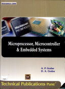 Microprocessor, Microcontroller And Embedded Systems