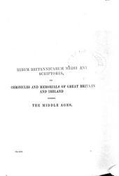 Recueil Des Croniques Et Anchiennes Istories de la Grant Bretaigne: A Present Nomme Engleterre, Issue 39, Volume 4