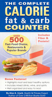 The Complete Calorie Fat   Carb Counter PDF