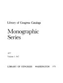 Monographic Series PDF