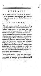 Extraits de la traduction du Gulistan de Sa'ady, par L. Langlès: Volume 6