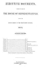 House Documents: Volume 144; Volume 149