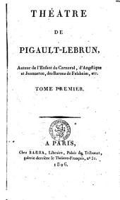 Théâtre: Volume 1