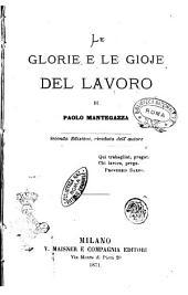 Le glorie e le gioie del lavoro di Paolo Mantegazza