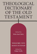 Theological Dictionary of the Old Testament PDF