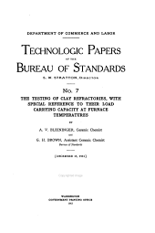 Technologic Papers of the Bureau of Standards: Issues 6-10