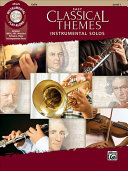 Easy Classical Themes Instrumental Solos   Cello  incl  CD  PDF