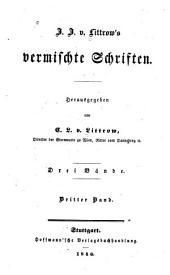 J.J. v. Littrow's vermischte Schriften: Band 3