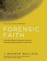 Forensic Faith PDF