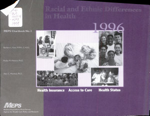Racial and Ethnic Differences in Health  1996 PDF