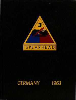 Spearhead  Germany 1963