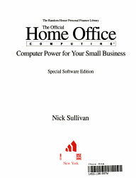 Home Office Computer Power W D Book PDF