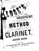 Klos   s conservatory method for the clarinet PDF