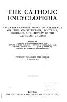 The Catholic Encyclopedia PDF