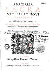 Adagialia sacra veteris et novi Testamenti