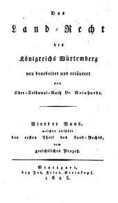 Das Land-Recht des Königreichs Würtemberg