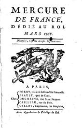 Mercure de France: 1768, 3
