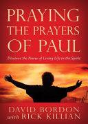 Praying the Prayers of Paul