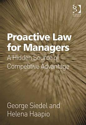 Proactive Law for Managers PDF