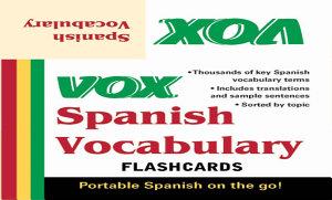 Vox Spanish Vocabulary Flashcards Book PDF