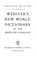 Webster s New World Dictionary of the American Language PDF