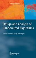 Design and Analysis of Randomized Algorithms PDF
