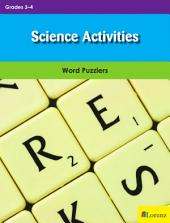 Science Activities: Word Puzzlers for Grades 3-4