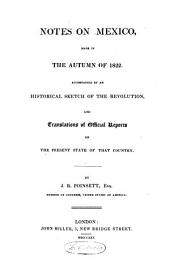 Notes on Mexico Made in the Autumn of 1822