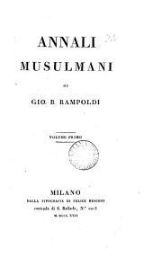 Annali Musulmani, Volume 1