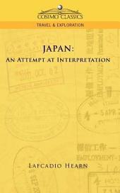 Japan : An Attempt at Interpretation