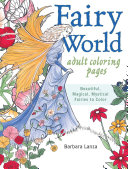 Fairy World Adult Coloring Pages