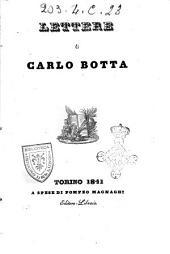 Lettere di Carlo Botta