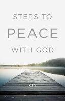 Steps to Peace with God  KJV   Pack of 25  PDF