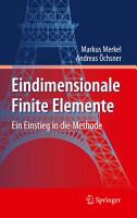 Eindimensionale Finite Elemente PDF