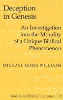 Deception in Genesis