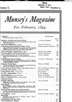Munsey s Magazine for     PDF