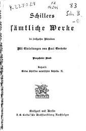 Schillers sämtliche Werke: in sechzehn Bänden. Kleine Schriften vermischten Inhalts. II. Vierzehnter Band