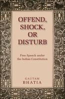 Offend  Shock  or Disturb PDF