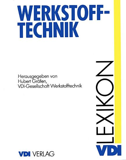 Lexikon Werkstofftechnik PDF