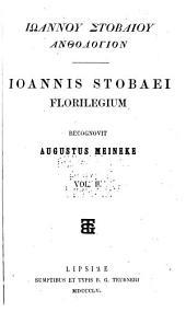 Florilegium: Τόμος 2