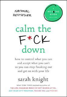 Calm the F ck Down Book