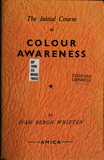The Initial Course in Colour Awareness