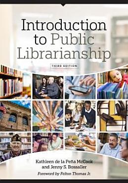 Introduction to Public Librarianship PDF