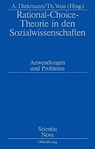 Rational Choice Theorie in den Sozialwissenschaften PDF