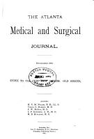 The Atlanta Medical and Surgical Journal PDF