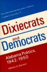 Dixiecrats and Democrats PDF
