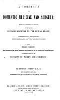 A Cyclopedia of Domestic Medicine and Surgery  etc PDF